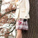LaJuPe dámské zimní sukně polyester_viskóza_s_podšívkou_červená_krémová_áčková_1kapsa_tunýlek_šedá_červená_tulipán_vtulipánu