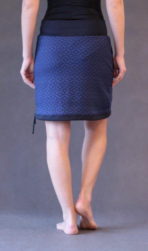 LaJuPe vyšívaná sukně polyester_elastan_bez_podšívky_modrá_modrá_áčková_1kapsa_tunýlek_modrá_modrá_mlýn_dvamlýny