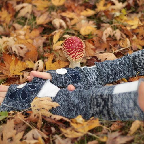 bezprstové rukavice
